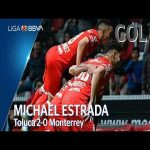 Toluca [2] - 0 Monterrey (M. Estrada 77')
