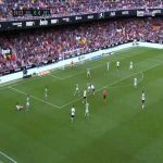 Valencia 1-0 Real Betis - K. Gameiro 60'
