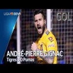 Andre Pierre Gignac | Tigres [3] - 0 Pumas | (125th goal in Mexico)