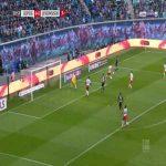 RB Leipzig 0-1 Bayer Leverkusen - Leon Bailey 29'