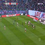 RB Leipzig [1]-1 Bayer Leverkusen - P. Schick 32'