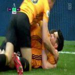 Tottenham 2-[3] Wolves: Raul Jimenez