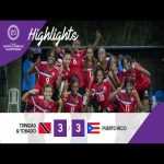Trinidad and Tobago 3 - 3 Puerto Rico (5-4 after penalties) | Concacaf U20 Women's Championship Round of 16 Highlights