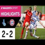 [Frauen-Bundesliga] MSV Duisburg 2 - 2 FC Bayern München | 16th Matchday 19/20 | Highlights