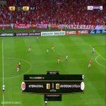 Internacional [2]-0 Universidad Católica - Paolo Guerrero 67'