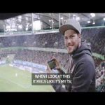 Wolfsburg have installed 5G at their stadium and launched in-game Augmented Reality so you can watch real-time stats and info on players in order to enhance the fan experience