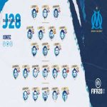 Florian Thauvin back to Marseille's squad for the first time since early september.
