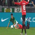 Saint-Etienne 0-1 Rennes - M'Baye Niang penalty 33'