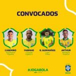 Bruno Guimarães (OL) receives his first Brazil NT call-up