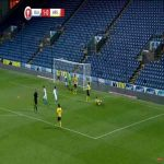 Ian Wright's grandson D'Margio Wright-Phillips scores against Arsenal in the FA Youth Cup