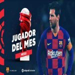 Messi is the February La Liga Player of the Month