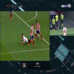 Atlético Madrid 2-[2] Sevilla - Lucas Ocampos penalty 43'