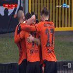 Chrobry Głogów [4]-1 GKS Tychy - Michał Michalec 71' (Polish I liga)