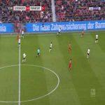 Leverkusen 1-0 Frankfurt - Kai Havertz 4'