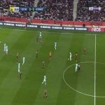 Nice 0-1 Monaco - Wissam Ben Yedder 32'