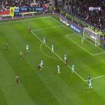 Nice [2]-1 Monaco - Kasper Dolberg 90'+3'