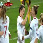 Poland W 4-0 Moldova W - Katarzyna Daleszczyk 45+2'