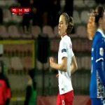 Poland W 5-0 Molodva W - Ewa Pajor 86' hat-trick