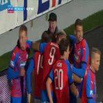 Viktoria Plzeň 1-0 Dynamo České Budějovice - Ondřej Mihálik 89'