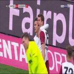 Bayern [1] - 0 Ausburg - Müller 53'