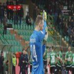 Górnik Łęczna 1-0 Widzew Łódź - Paweł Baranowski 5' (Polish II liga)