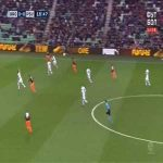 Groningen 0-1 PSV - Denzel Dumfries 16'