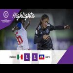 Mexico 1 - 1 Haiti ( 4-2 on pens ) | CONCACAF Under-20 Women's Championship Highlights