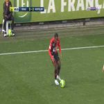 Rennes 1-0 Montpellier - Faitout Maouassa great strike 9'