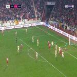 Sivasspor 1-0 Galatasaray - Hakan Arslan 7'