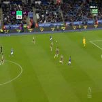 Leicester 1-0 Aston Villa - Harvey Barnes 40'