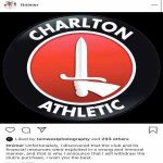 Tahnoon Nimer has announced he has withdrew his purchase of Charlton Athletic vía Instagram.