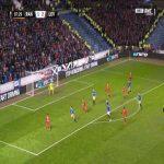 Rangers 1-[3] Leverkusen - Leon Bailey 88'