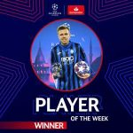Josip Ilicic wins UEFA Champions League Player Of The Week