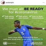 Paul Pogba advice on Covid-19