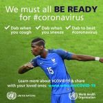 Paul Pogba: Dab to beat coronavirus