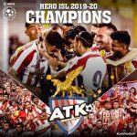 ATK have won third Indian Super League title defeating Chennaiyin 3-1 in the final, played behind closed doors