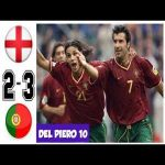 England vs Portugal 2-3, All Goals and Highlights Euro 2000 Portugal golden generation