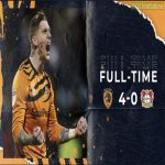 FT Hull City have beat Bayer Leverkusen 4-0 in a game of Connect 4. Absolute scenes.