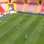 Kayserispor 1-0 Yeni Malatyaspor - Muris Mesanovic 22'