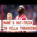 Saido Mane scores fastest PL hat-trick in 2 minutes 56 seconds