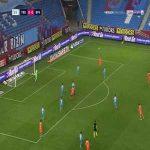 Trabzonspor 0-1 Basaksehir - Demba Ba 56'