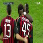 Mario Balotelli's goal (Milan) vs Bologna