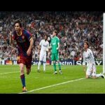 Barcelona - Real Madrid - Messi goal (Busquets great assist)