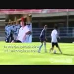 A very young Lionel Messi teaching his dribbling skills (English subtitles)