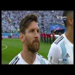 Argentina national anthem vs Nigeria [World Cup 2018] - spine-tingling atmosphere with Marcos Rojo in tears