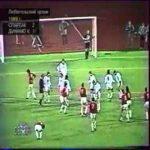 Spartak Moscow [2] - 1 Dynamo Kiev - V. Shmarov 90' (Great free-kick, USSR 1989 title deciding goal)