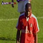 [2001/02] Harchester Utd vs. Charlton Athletic: Charlton's Eugene Rose reacts poorly to being substituted off.