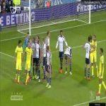 Fabregas 28' amazing free kick vs West Brom