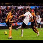 Johan Elmanders horny goal vs Wolves.