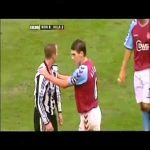 Lee Bowyer and Keiron Dyer having a scrap
